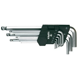 Klucze imbusowe 1,5-10mm, kpl.x9 TOPEX