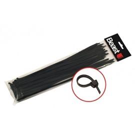 Zaciski do przewodów 190x4.7mm BLACK x50