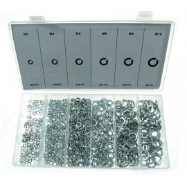 Podkładki sprężynowe 3-10mm,  x1200