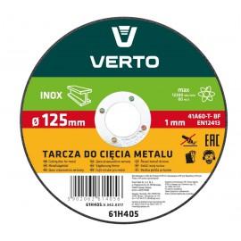 Tarcza tnąca do metalu 125x1x22,2 INOX