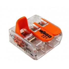 Złączka, szybkozłączka 3x0,14-4mm2 WAGO