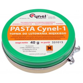 76835 Pasta lutownicza, topik 40g Cynel